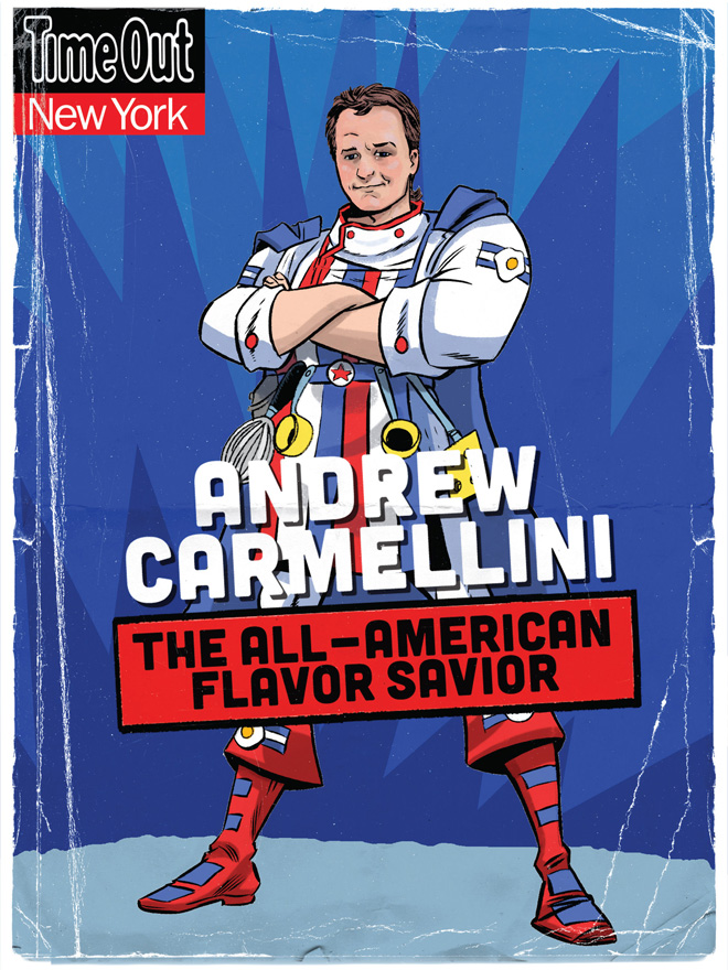 Andrew Carmellini, The All-American Flavor Savior