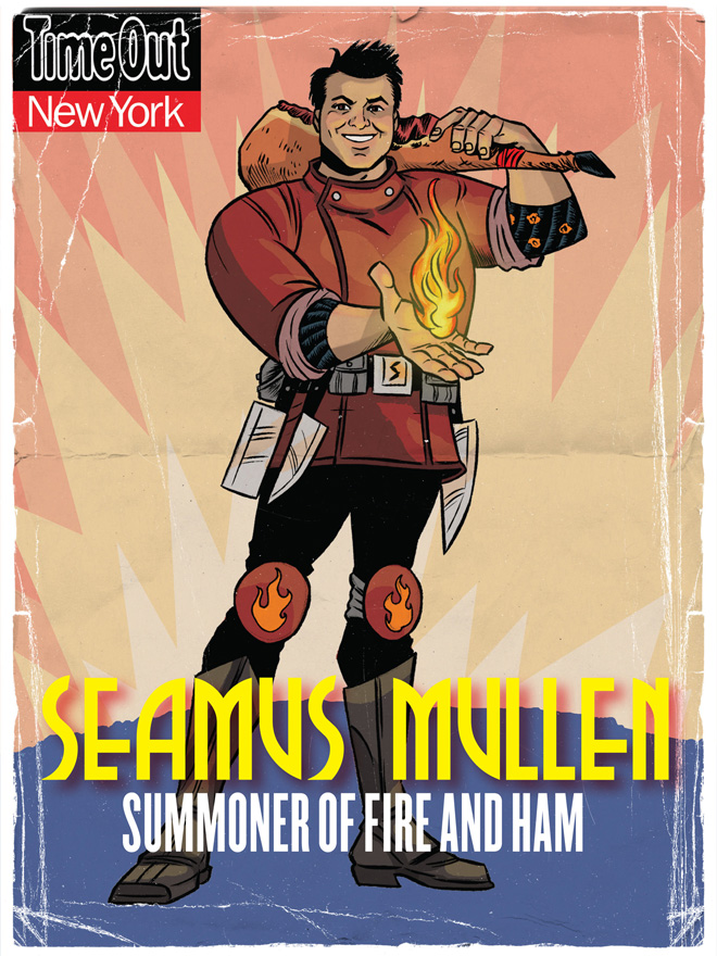 Seamus Mullen, Summoner of Fire and Ham